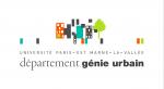 Département Génie Urbain (Université Paris-Est Marne-La-Vallée)