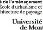 École d'urbanisme et d'architecture de paysage (Université de Montréal)