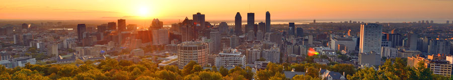 montreal sunset